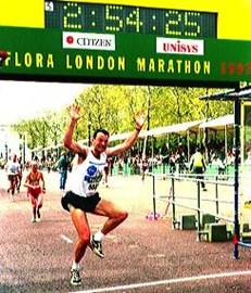 1997 London Marathon - Personal Best!