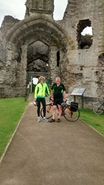 Starting point Denbigh Castle