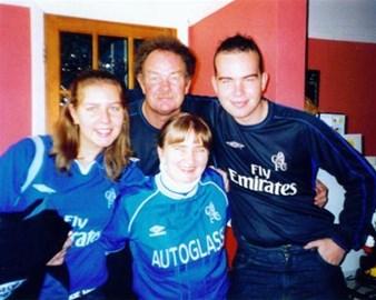 Sam with Mum & Dad & brother Nick