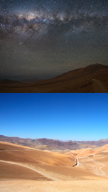 Day and Night in the Atacama