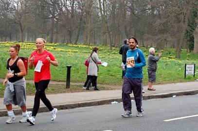Liverpool Half Marathon - 5 miles in