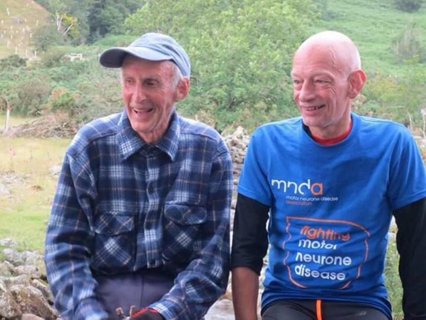 Steve cliff is fundraising for motor neurone disease for Motor neurone disease support