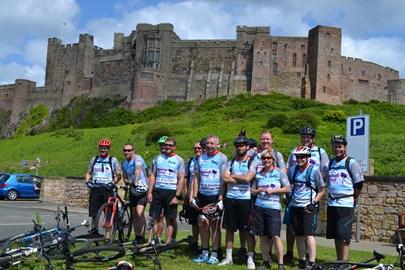We've reached Bamburgh Castle