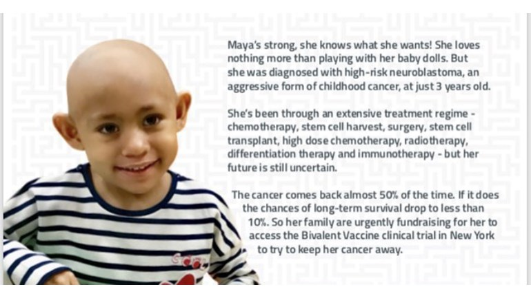 6b8dc6d9450 Holly Evans is fundraising for Solving Kids' Cancer