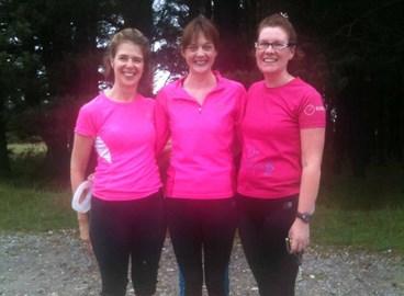 Gill, Karen and Catherine