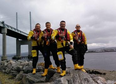 RNLI Kessock volunteers take the H2Only Challenge