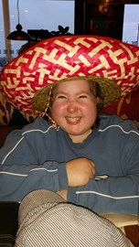 Enjoying a meal in chiquitos