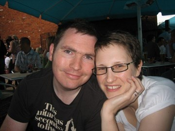 Me and Helen 6 months in remission