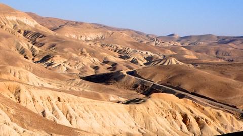 Jordan desert ..
