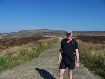 A very sunny day 1 at Snake Pass
