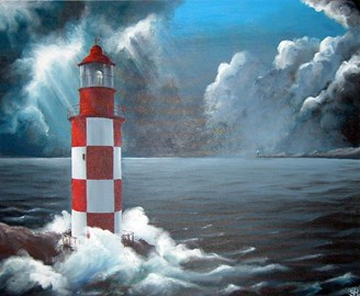 Lighthouse by Sophie Himene
