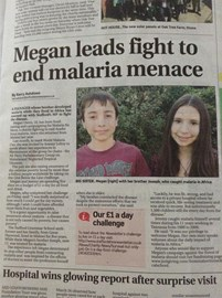 Article in Staffordshire Newsletter