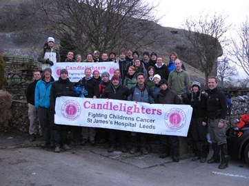 This year's walkers all keen and ready!!