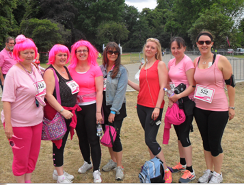 The MBA ladies running for Charity!