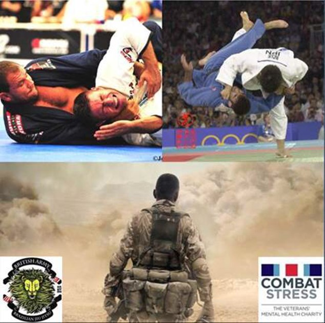 Stress Test Mental: British Army BJJ Team Is Fundraising For Combat Stress