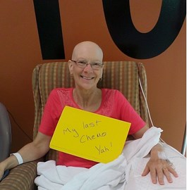 Last chemo treatment 2015