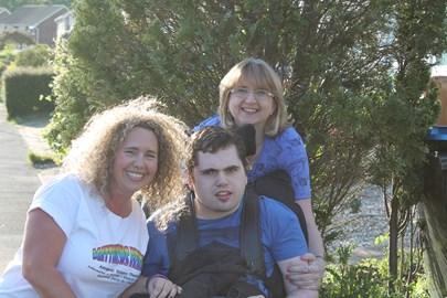 Matthew, Emma & myself