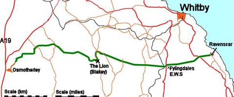 The Route - looks a long way!!
