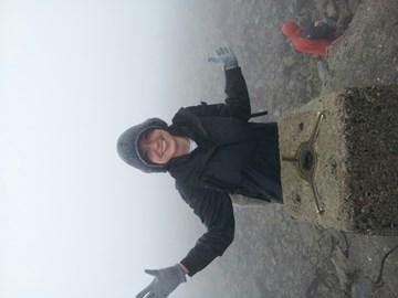 Challenge completed! Standing on top of Ben Nevis