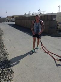 Sledge pull training