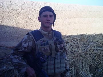 shaun in Afghanistan