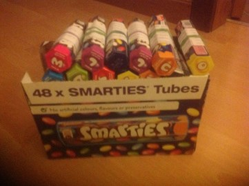 Whose been a smartie!