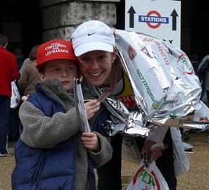 Finishing The 2008 London Marathon