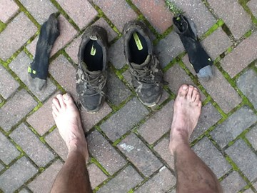 Doing it dirty! Winter training on the trails around Appley Bridge, Ashurst Beacon and Parbold Hill