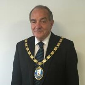 North Ayrshire Council's Provost Ian Clarkson