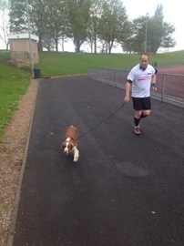 Doing Two Laps on day three with annie