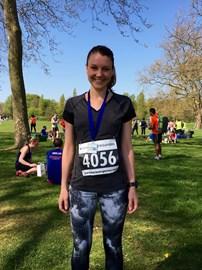 Regent's Park Half Marathon in April
