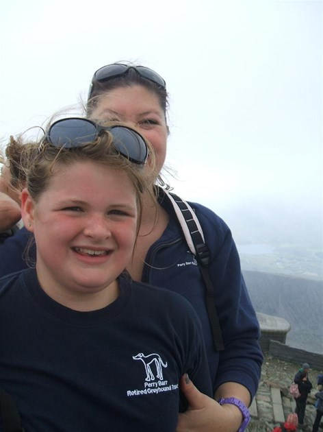 How Long To Climb Snowdon >> henrietta parr is fundraising for Greyhound Trust Solihull