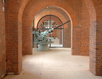 Bofors Gun in the new exhibition space