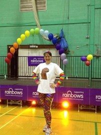 me, after this years Zumbathon for. Rainbows Hospice!