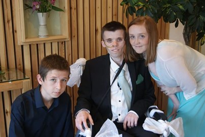 My little brother on his wedding renewal day x