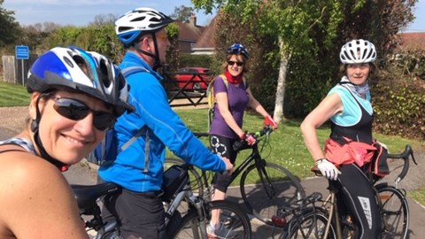 Easter Friday bike ride!