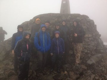 Wonderful views from the top of Ben Nevis