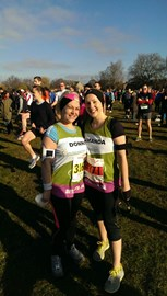 Before the Cambridge Half yesterday; eager and ready to go