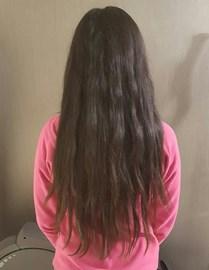 Length of my hair on 22.01.17