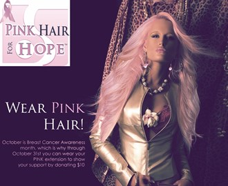 Pink Hair for Hope