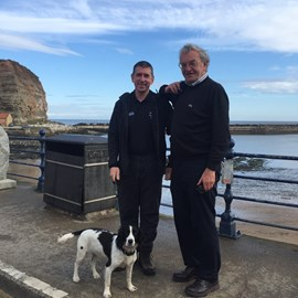 With Peter Collinson setting off on the first leg from Staithes to Marske