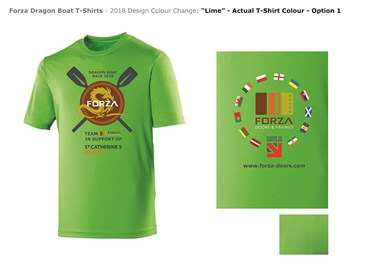 The new Rowing Crew T-Shirts for 2018