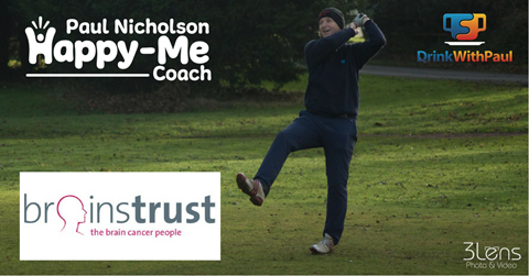 Paul Happy-Me Coach Fundraising For Brainstrust