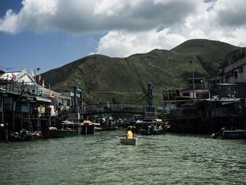 The destination of the 80km challenge, Tai O.