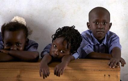 School children supported by Msaada