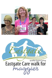 Walking for Maggies, Eastgate Staff