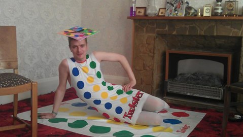 Tasteful Twister outfit...