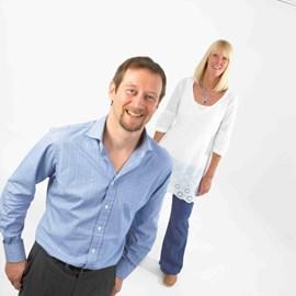 Simon with his wife Åsa
