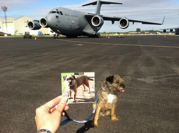 With @smudgeBt and his C17