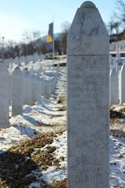 The cemetery at Potocari Memorial Centre